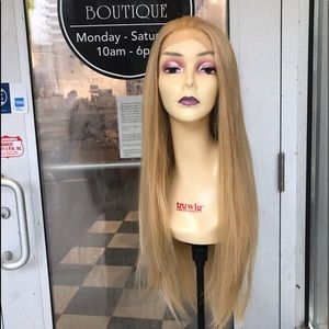 Accessories - Long blonde wig Lacefront 30+ inch warm blonde wig